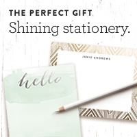 Foil-Pressed Stationery