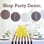 Shop Party Decor