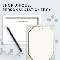 Gifts Nav Ad: Personal Stationery