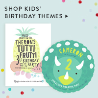 Baby & Kids Nav Ad: Kids' Birthday themes