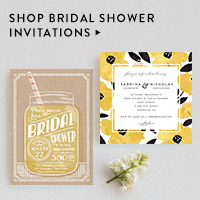 Parties Nav Ad: Bridal Shower Invitations